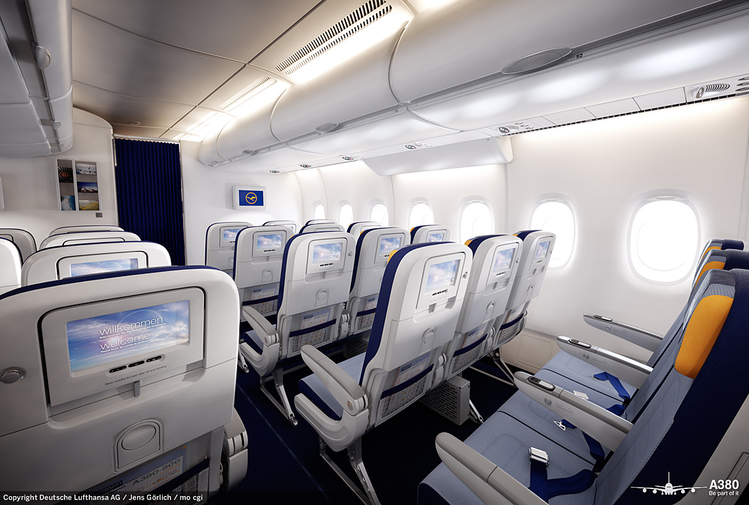 the gallery for british airways a380 interior economy. Black Bedroom Furniture Sets. Home Design Ideas